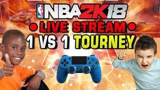 Download NBA 2K18 LIVE 1 vs 1 Tournament! Video