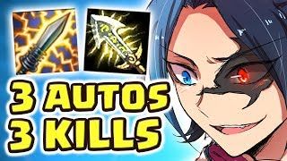 Download I DO A MAGIC TRICK | THE LEGENDARY ONE AUTO KILL!! MOST BROKEN 1-SH0T EVER | NEW BUILD KAYN JUNGLE Video
