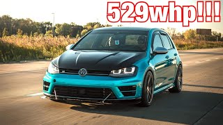 Download APR Stage 3+ Golf R LAUNCH CONTROL and REVIEW!!! 0-60mph in 3.07 seconds! Video