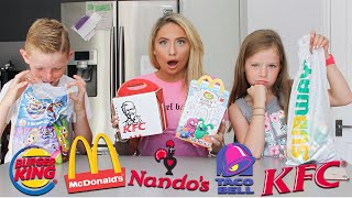 Download I rated British fast-food kids meals with KIDS!! Video