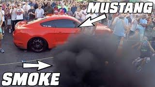 Download Diesel SMOKES a Mustang GT350! Video