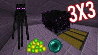 Download Minecraft Easy Big Enderman Farm 3x3 XP+Ender Pearl 2D and 3D tutorial Video