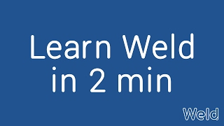 Download Learn Weld in 2 minutes - build apps and websites without code Video