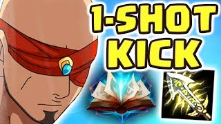 Download THE LEGENDARY 1-SHOT KICK | HE UNINSTALLED AFTER | THIS IS ACTUALLY SO FUN!! FULL AD LEE SIN JUNGLE Video
