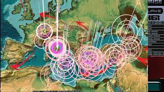 Download 10/16/2017 - Earthquakes spreading from across Pacific - Europe, Pacific, USA - Be prepared Video