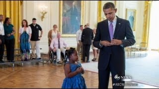 Download Kindergartener Gets School Absence Pardon From President Video