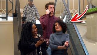Download AWKWARD PHONE CALLS on the ESCALATOR PRANK! (Part 2) Video