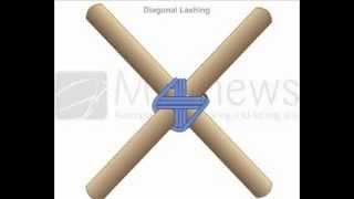 Download How to Tie Diagonal Lashing Video