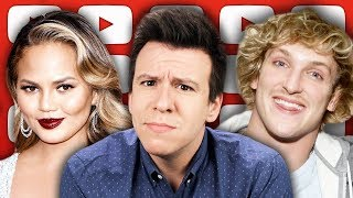Download Logan Paul's Delusion, Tone Deaf Controversy Hits Jack In The Box, Chrissy Teigen, & Oscar Outrage Video