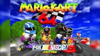 Download NASCAR drivers play 'Mario Kart 64' Video