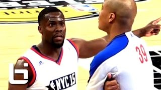 Download Kevin Hart FUNNY Basketball Moments On His Way to 4th Celebrity Game MVP in Kevin Hart Fashion Video