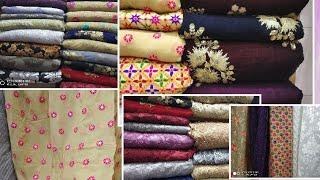 Download লেহেংগা, গাউন বানানোর জন্য, ভেলভেট ও নেট গজ কাপড় /gown make for velvet,net & designer gouge fabric Video