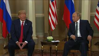 Download Donald Trump and Vladimir Putin meet in Helsinki - 5 News Video