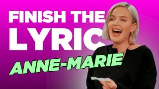 Download Finish The Lyric: Anne-Marie | Capital Video