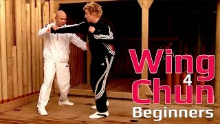 Download Wing Chun for beginners lesson 43: Blocking kicks in the high and low line Video