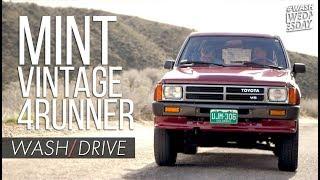 Download Classic Toyota 4Runner SR5 Wash + Drive | WASHWEDNESDAY Video