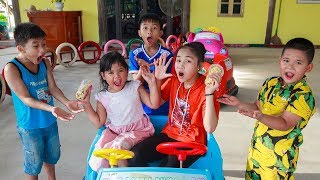 Download Kids Go To School | Chuns With Best Friends Go Supermarket Shopping Explore The Game Zone Video
