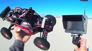 Download Feiyu FY03 RC Car with Syma X5C FPV Kit Test Drive Review Video