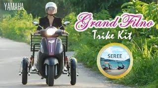 Download Yamaha Grand Filano Trike Kit / Side Wheel Kit ล้อกันล้ม รถผู้สูงอายุ รถสามล้อ(หลัง) Video