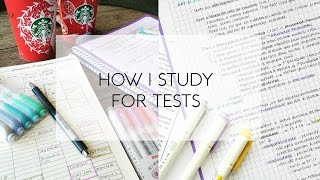 Download How I Study for Tests Video