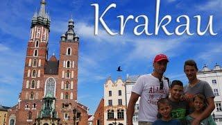 Download ⛪ Im historischen Krakau ist echt was los! - Weltreise mit 4 Kindern VLOG Polen [HD] Video