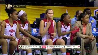 Download 2016 Sun Belt Basketball Championship: Women's Game 1 Highlights Arkansas State vs Appalachian State Video