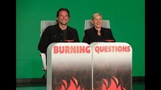 Download Bradley Cooper Answers Ellen's 'Burning Questions' Video