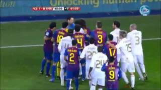 Download El Clasico - Real Madrid vs. Barcelona // Most Heated Moments { Fights, Brawls, Fouls } Video