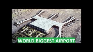 Download Turkey Builds World's Largest Airport - Istanbul New Airport Opens in 2018 - 200 Million Passengers Video