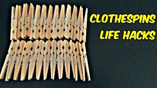 Download 6 Clothespins Life Hacks Video