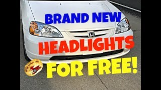 Download Get Brand NEW Headlights for FREE !! Video