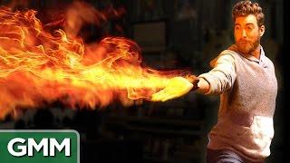 Download Mini Flamethrower Demo (Real Avatar Firebending) Video
