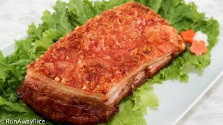 Download Crispy Roast Pork (Thit Heo Quay) Video