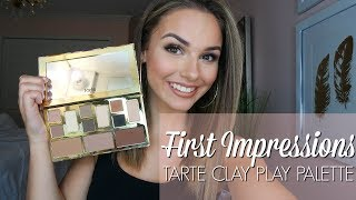 Download FIRST IMPRESSIONS - TARTE CLAY PLAY PALETTE Video