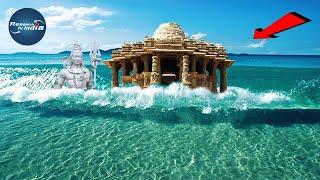 Download दिन में 1 बार दर्शन दे समुद्र में गायब हो जाता है ये मंदिर |Stambheshwar Mahadev| स्तंभेश्वर महादेव Video