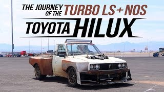 Download The journey of the Turbo LS + NOS Powered Hilux Video