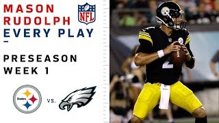 Download Every Mason Rudolph Play in NFL Debut vs. Eagles Video