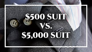 Download Difference Between Cheap $500 Custom Suit & $5,000 Tailor-Made Bespoke Suits Video