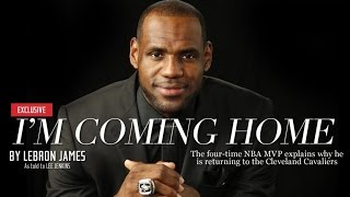Download Lebron James Returning to Cleveland - Celebs React! Video