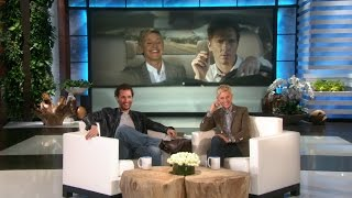 Download Matthew McConaughey Watches Ellen's Lincoln Commercial Video