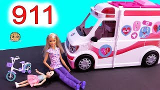 Download 911 Call ! Barbie Ambulance Care Clinic Car ! Cookie Swirl C Video Video