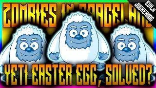 Download YETI EASTER EGG w/GLITCHING QUEEN - ZOMBIES IN SPACELAND (INFINITE WARFARE ZOMBIES) Video