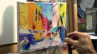 Download How to Oil Paint: Tips, tricks with the palette knife Video