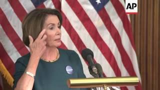 Download Pelosi ″sad″ over Trump's voter fraud claims Video