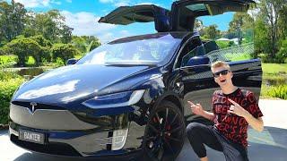 Download MY NEW CAR! (Tesla Model X P100D) Video