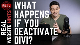 Download What happens when you deactivate the Divi theme? Video