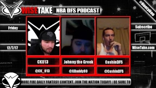 Download NBA FanDuel & DraftKings Podcast - 12/7/17 w/ @CK 013 @GDaddy80 & @CashinDFS Video