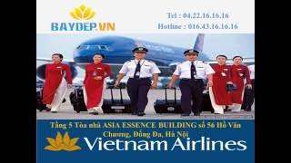 Download Báo giá vé máy bay Vietnam Airlines Hà Nội Sài Gòn rẻ, bảng giá Vietnam Airlines Video