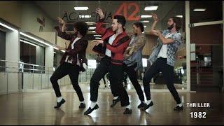 Download The Evolution of Michael Jackson's Dance - By Ricardo Walker's Crew Video