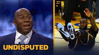 Download Magic Johnson on LeBron's 2017-18 MVP Chances, Kyrie's move to Boston | UNDISPUTED Video